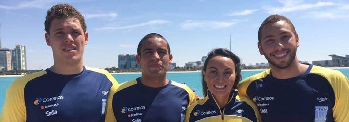 Maratonas Aquáticas - Poliana obtém melhor resultado brasileiro em Abu Dhabi