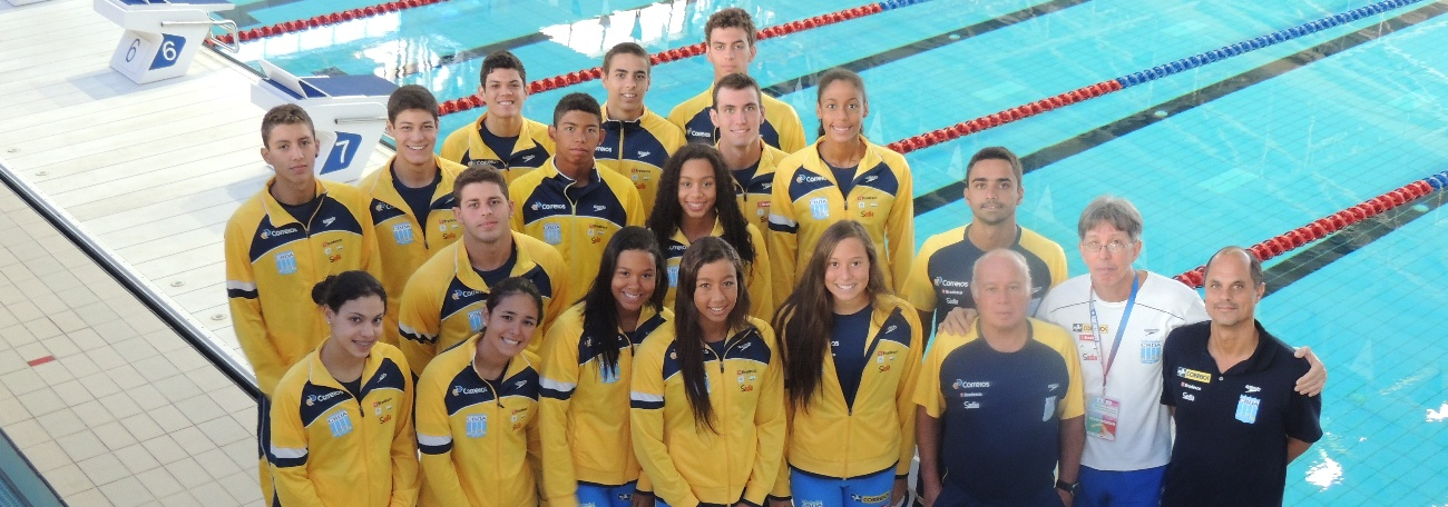 Natação - Brasil conquista muitos pódios em Israel e Portugal