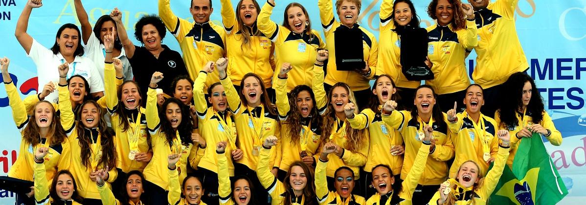 Nado Sincronizado - Brasileiras ganham tudo e são campeãs geral