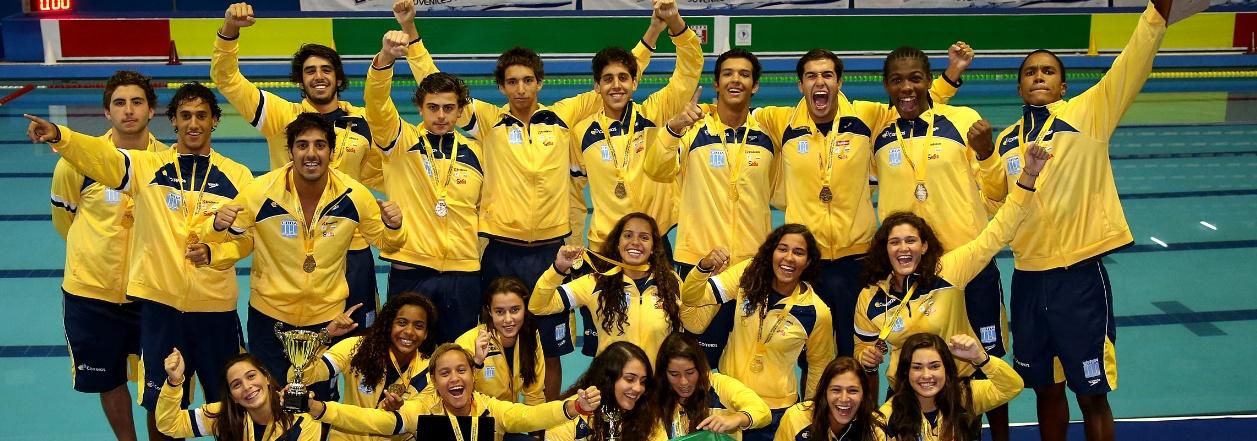 Pólo Aquático - Masculino vence Argentina e Brasil é campeão de tudo também no Polo Aquático