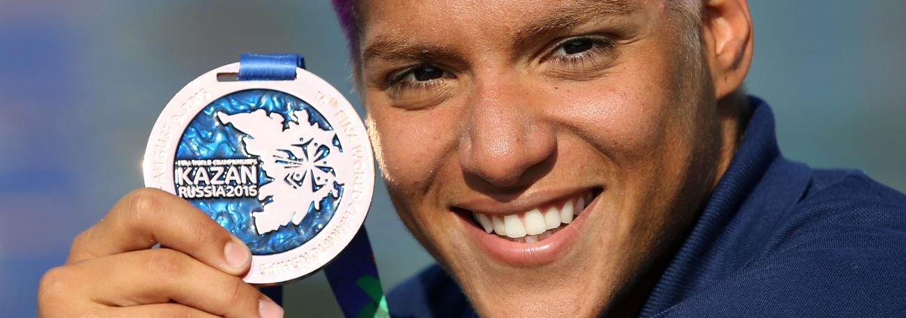 Maratonas Aquáticas - Ana é bronze, Poliana é sexto e a maratona está definida para 2016