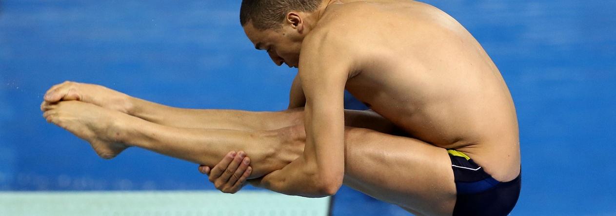 Saltos Ornamentais - César Castro está nos Jogos Rio 2016!