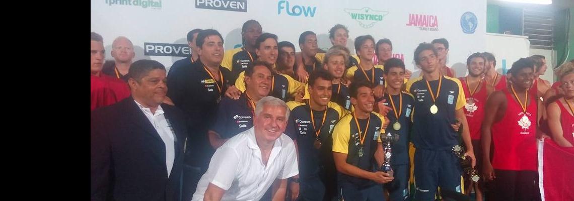 Pólo Aquático - Brasil é Tricampeão Pan-Americano Juvenil Masculino. Meninas terminam em 4º lugar