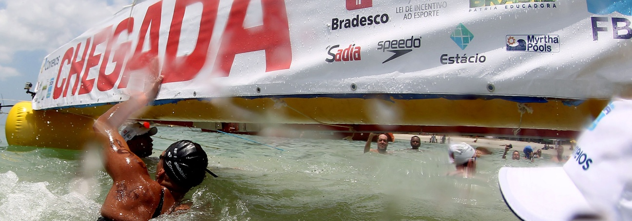 Maratonas Aquáticas - Brasil e Itália com Ana Marcela e Frederico Vanelli nos 5 quilômetros