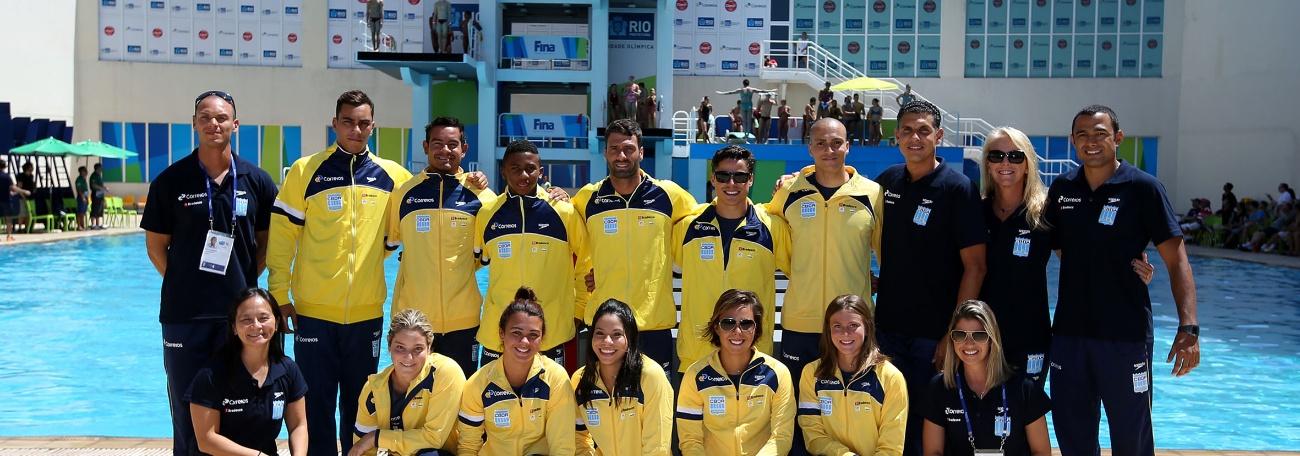 CBDA - Brasil garante três vagas olímpicas nos Saltos Ornamentais