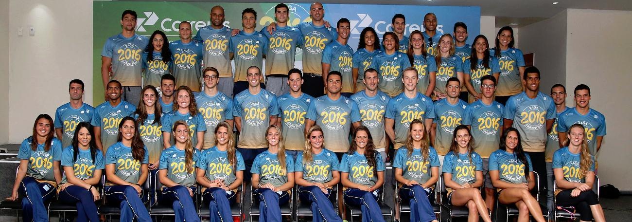 Natação - Seleção Aquática do Brasil é apresentada