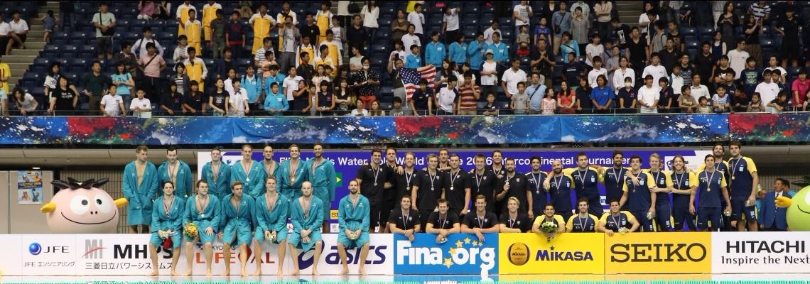 Pólo Aquático - Brasil vence Japão novamente, termina em 3º, e vai forte para Super Final