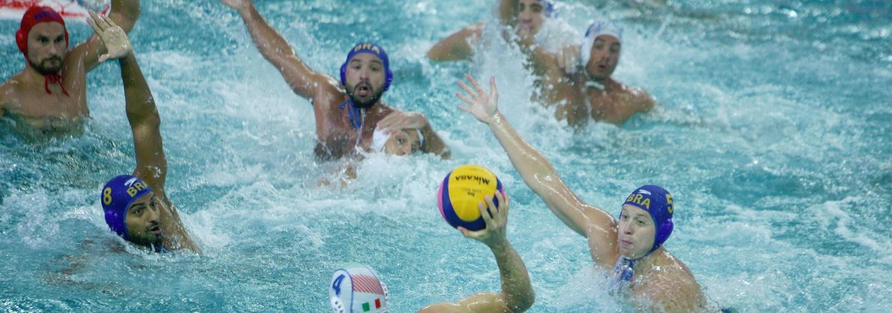 Pólo Aquático - Brasil fica fora da luta por medalhas e pega o Japão na disputa do 5º ao 8º lugar