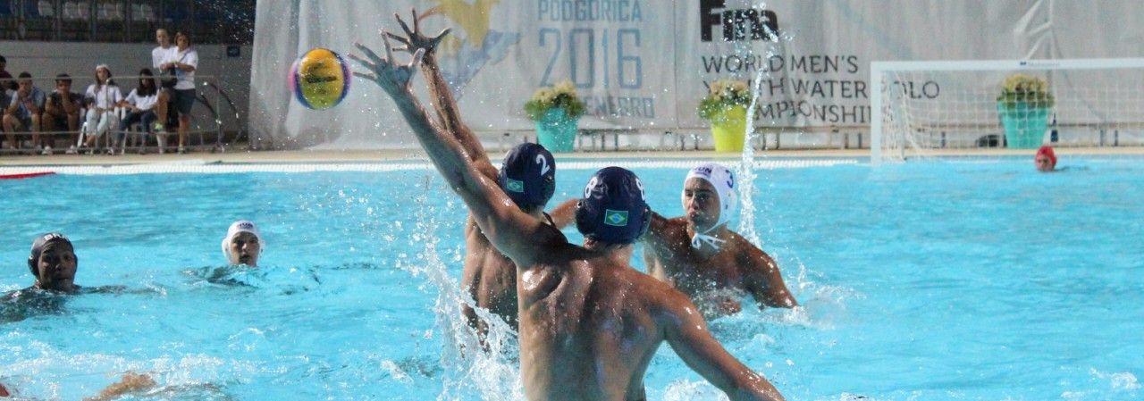 Pólo Aquático - Brasil perde suas primeiras partidas e encara Montenegro nesta terça