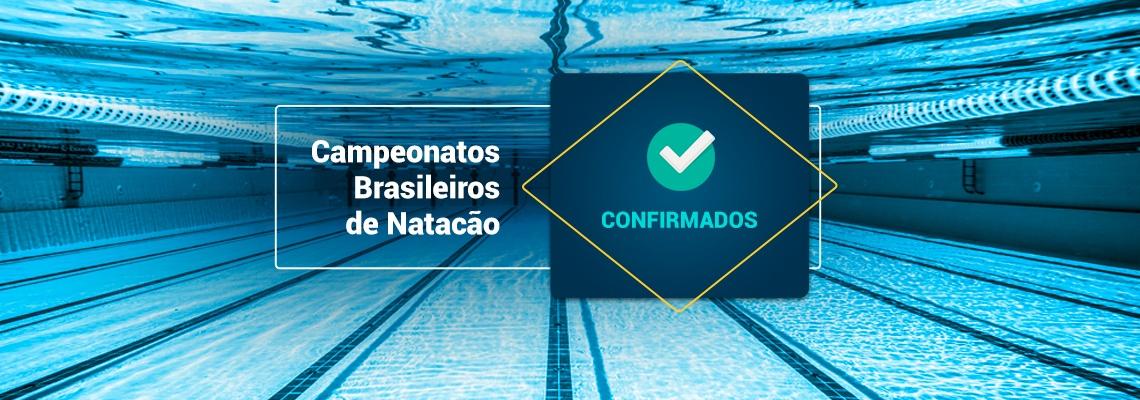 Campeonatos Brasileiros de Natação - Confirmados