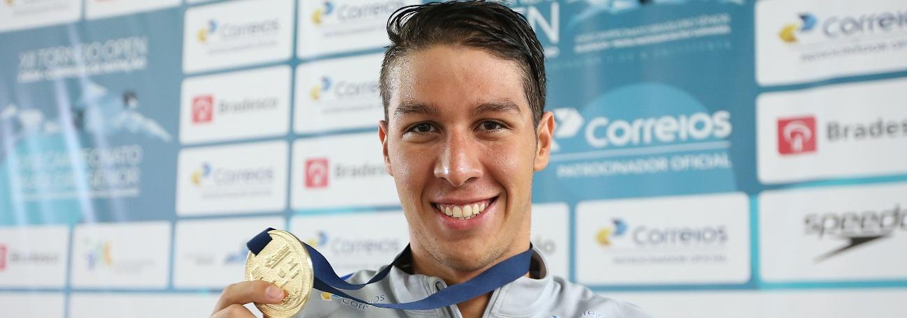 Natação - Brandonn bate Recorde Sul-Americano e Pinheiros é tricampeão do Open