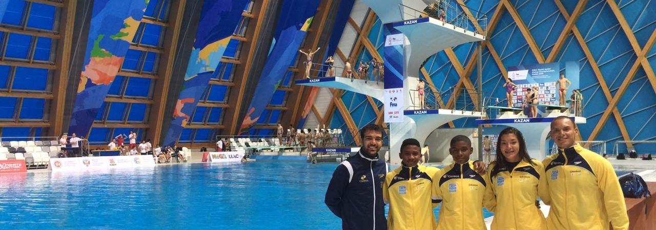 Saltos Ornamentais - Brasil termina em 8º na prova inaugural do Mundial Junior