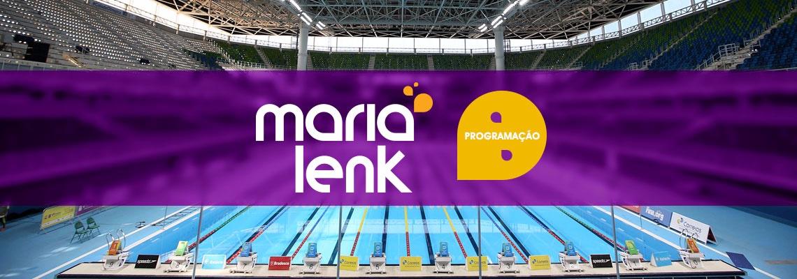 Programação Troféu Maria Lenk 2017