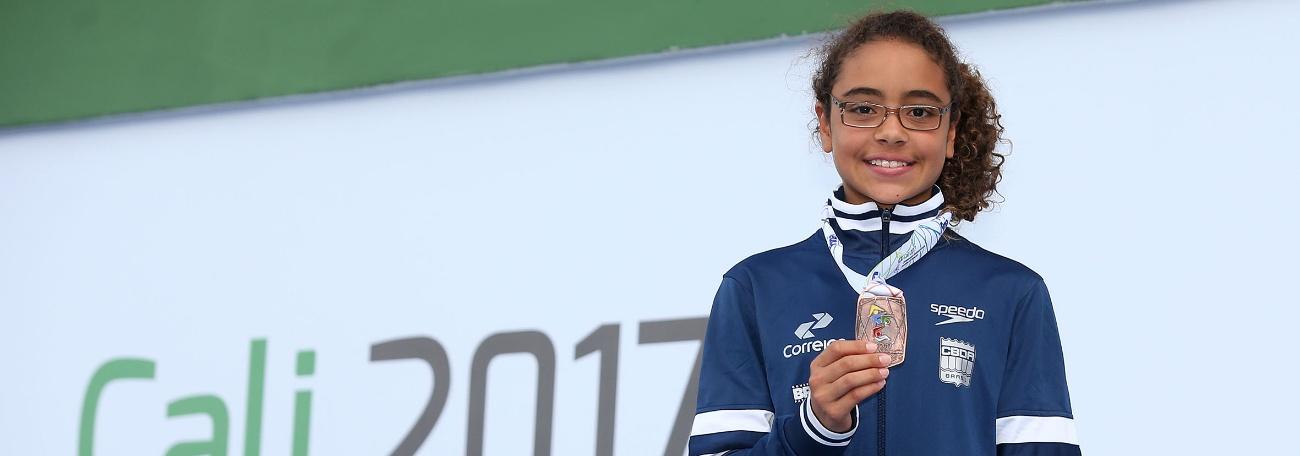 Vieram dos Saltos as primeiras medalhas brasileiras no Sul-Americano Juvenil
