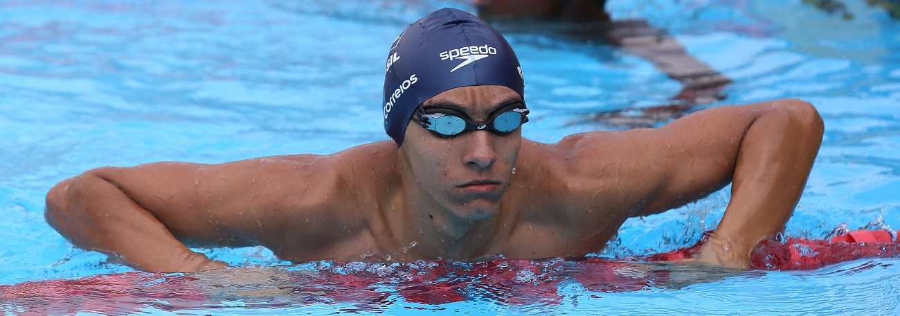 Breno é o mais rápido do sul-americano e Brasil garante 60ª medalha