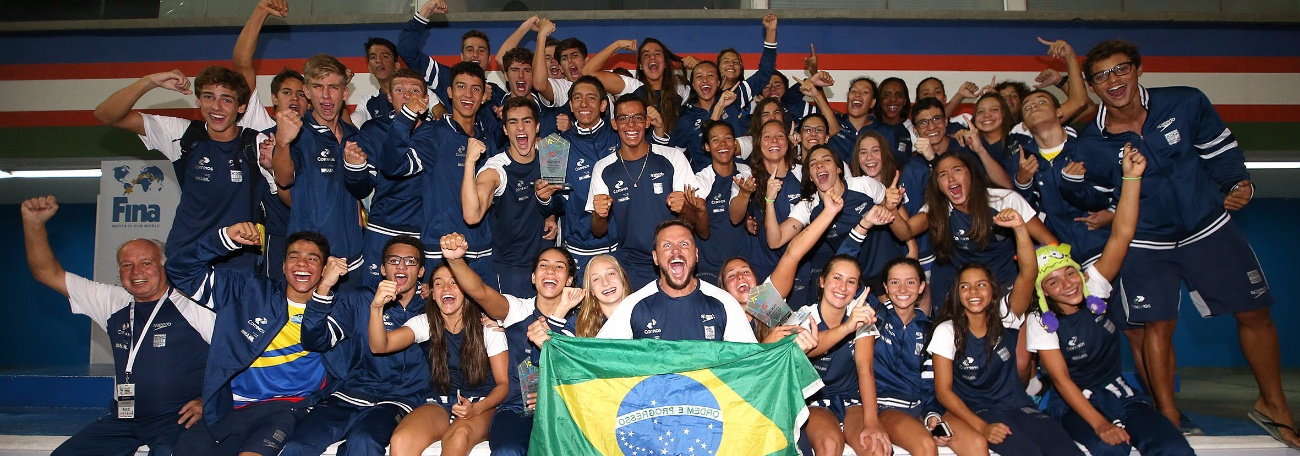 Natação - Em campanha histórica Brasil mantém hegemonia e é Campeão Sul-Americano Juvenil