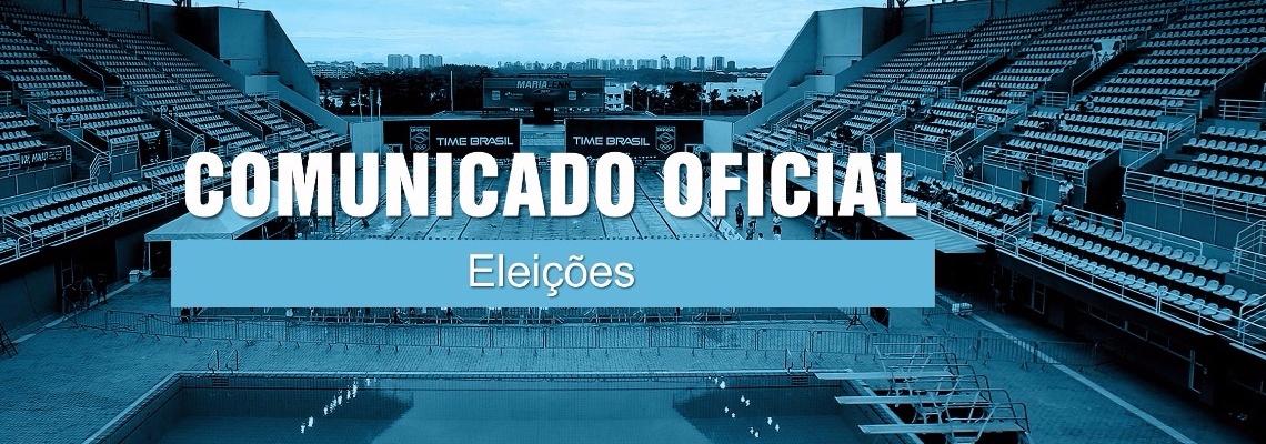 Comunicado Oficial - Eleições