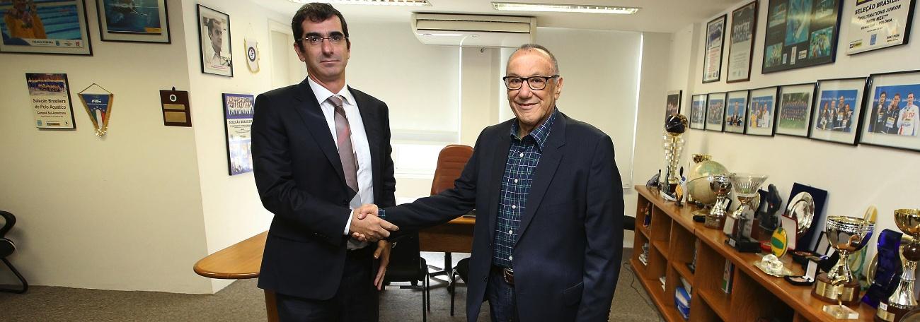 CBDA - Miguel Cagnoni toma posse na sede da CBDA