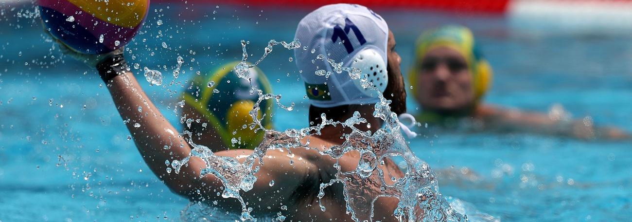 Pólo Aquático - Brasil perde para a Austrália e buscará nona colocação