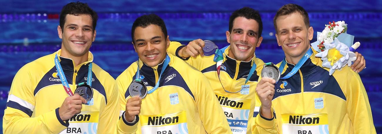 Natação - A 33ª medalha mundial da natação brasileira