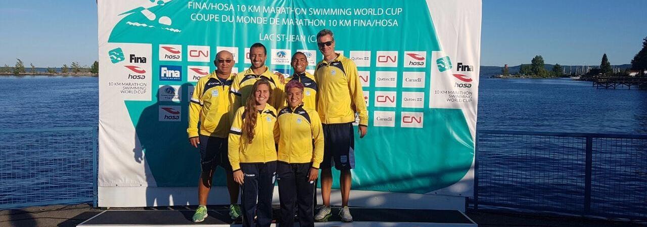 Maratonas Aquáticas - Maratonistas brasileiros em novo desafio