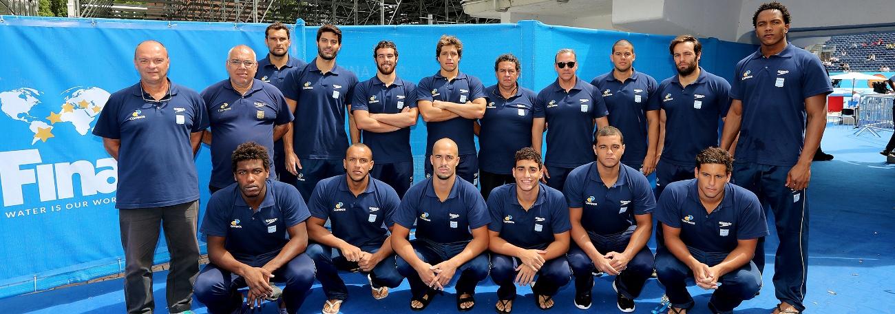 Pólo Aquático - Seleção Masculina encerra na 12ª colocação