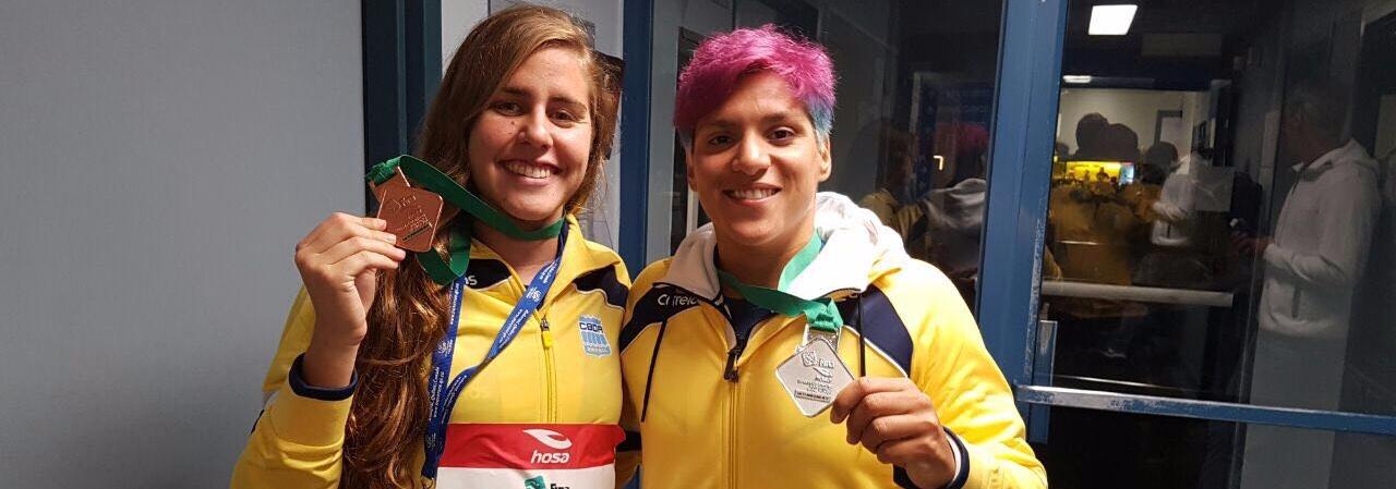Maratonas Aquáticas - Ana Marcela e Viviane Jungblut conquistam prata e bronze no Canadá