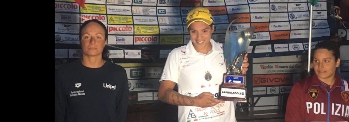 Ana Marcela conquista bicampeonato de tradicional maratona na Itália