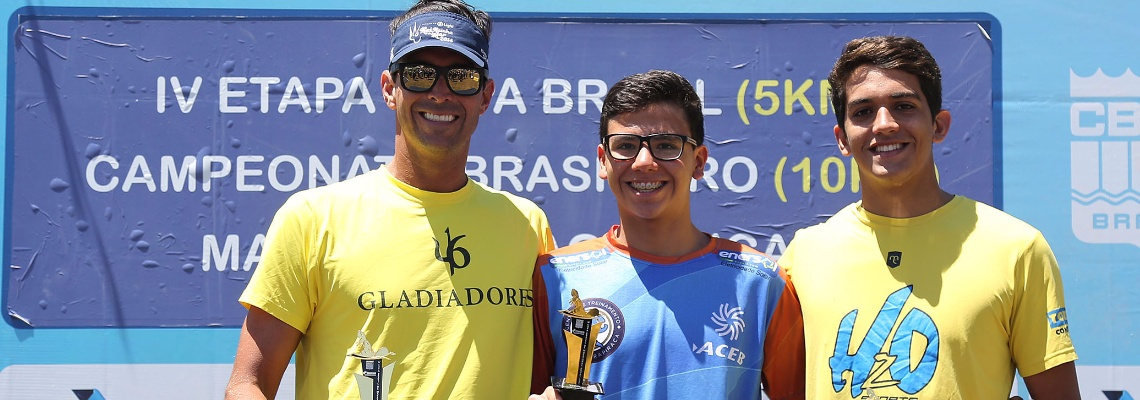 Maratonas Aquáticas - Garoto de 14 anos foi a grande revelação em Brasília