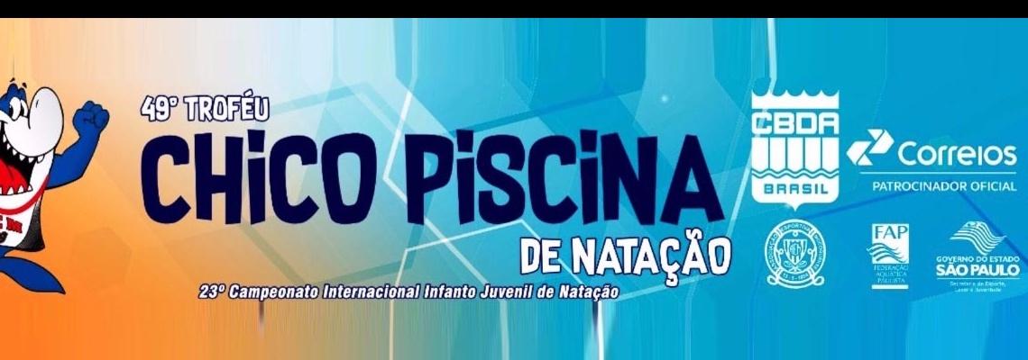 Celeiro de talentos, Troféu Chico Piscina 2017 tem mais de 300 atletas inscritos