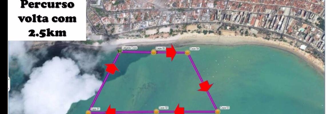 Praia de Pajuçara recebe V Etapa da Copa do Brasil de Maratona Aquática