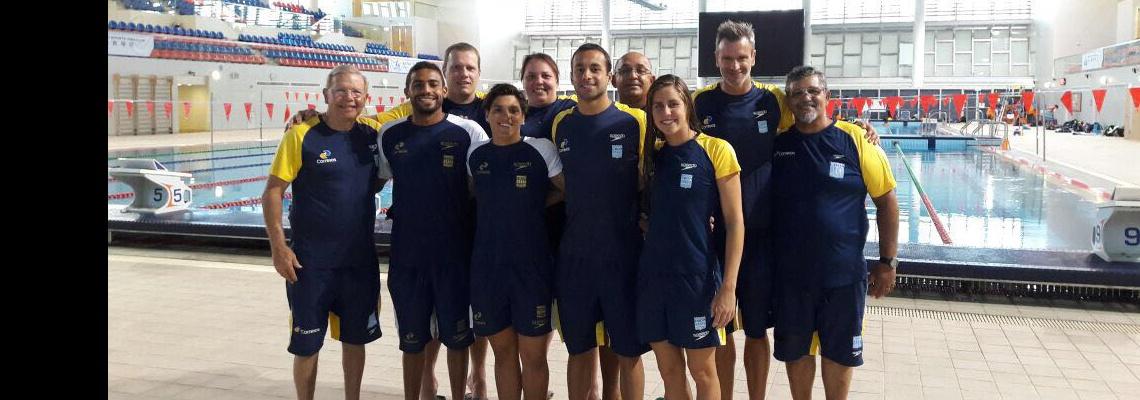 Brasileiros disputam etapas da Ásia de Maratona Aquática