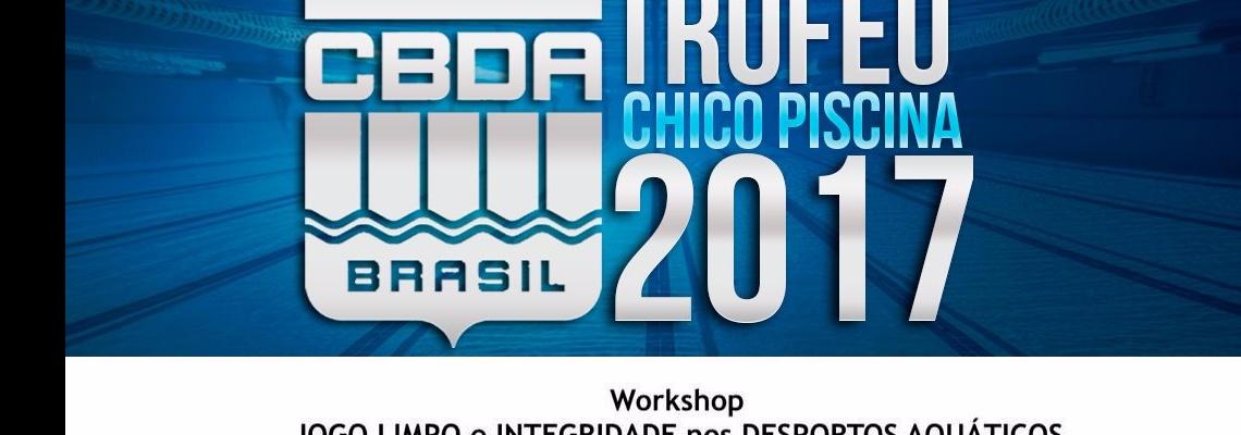 Workshop leva informações sobre antidoping a jovens no Troféu Chico Piscina