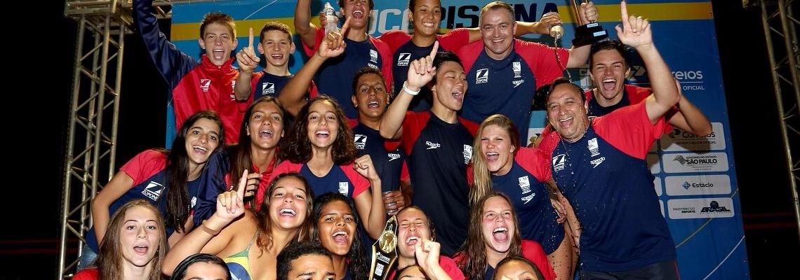 Natação - São Paulo é campeão geral do 49º Troféu Chico Piscina