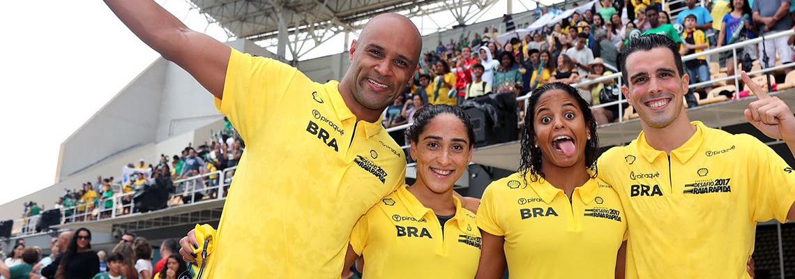Natação - Brasil é campeão do Desafio Raia Rápida 2017