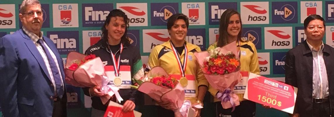 Maratonas Aquáticas - Brasil conquista quatro medalhas na etapa da China da Copa do Mundo
