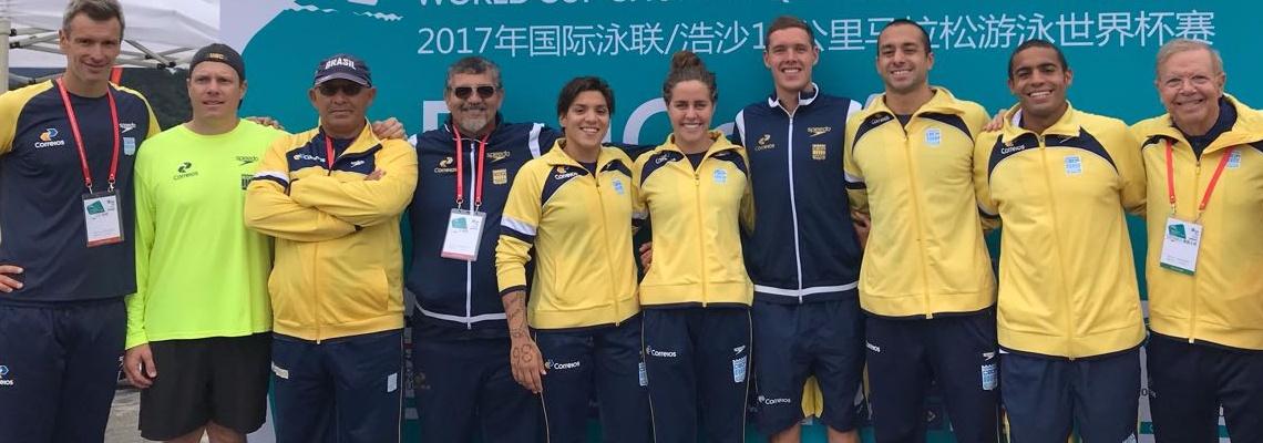 Maratonas Aquáticas - Após medalhas em Chuan'an, Brasil se prepara para última etapa da Copa do Mundo de maratonas aquáticas