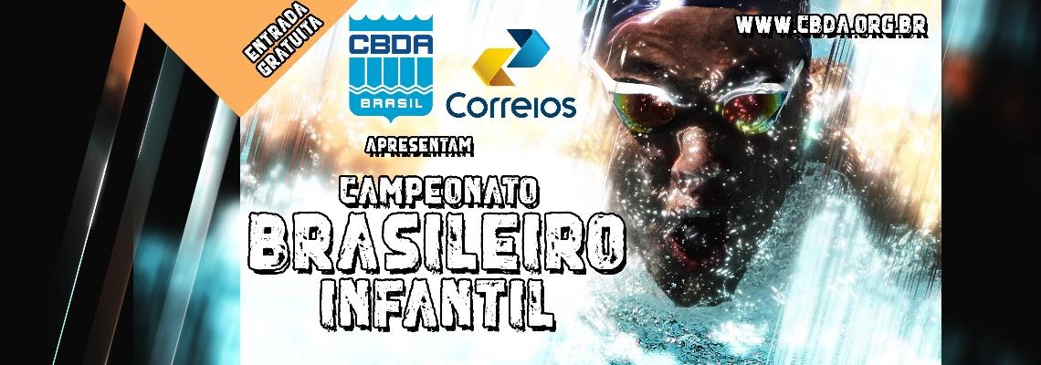 Campeonato Brasileiro Infantil terá mais de 500 atletas e 101 equipes a partir desta terça-feira