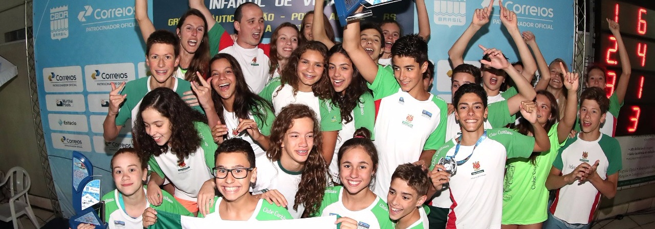 Clube Curitibano é campeão geral do Campeonato Brasileiro Infantil de Verão - Troféu Maurício Bekenn