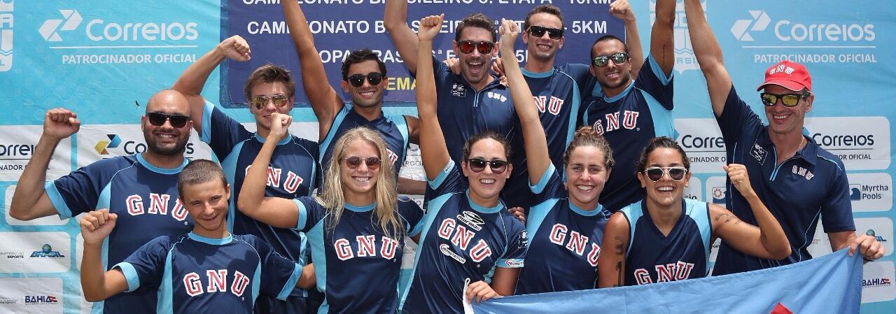 Maratonas Aquáticas - Grêmio Náutico União é campeão no Ranking Nacional de Maratonas Aquáticas de 2017