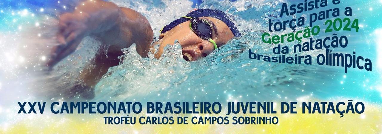 Natação - Campeonato Brasileiro Juvenil tem mais de 400 atletas inscritos e 84 clubes; veja o start list