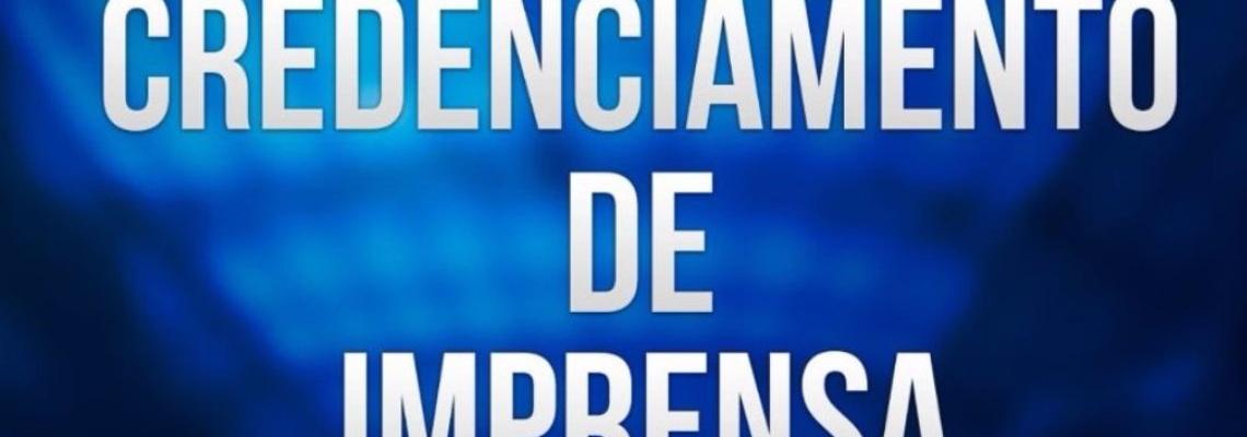 Credenciamento de imprensa - Torneio Open CBDA-Correios