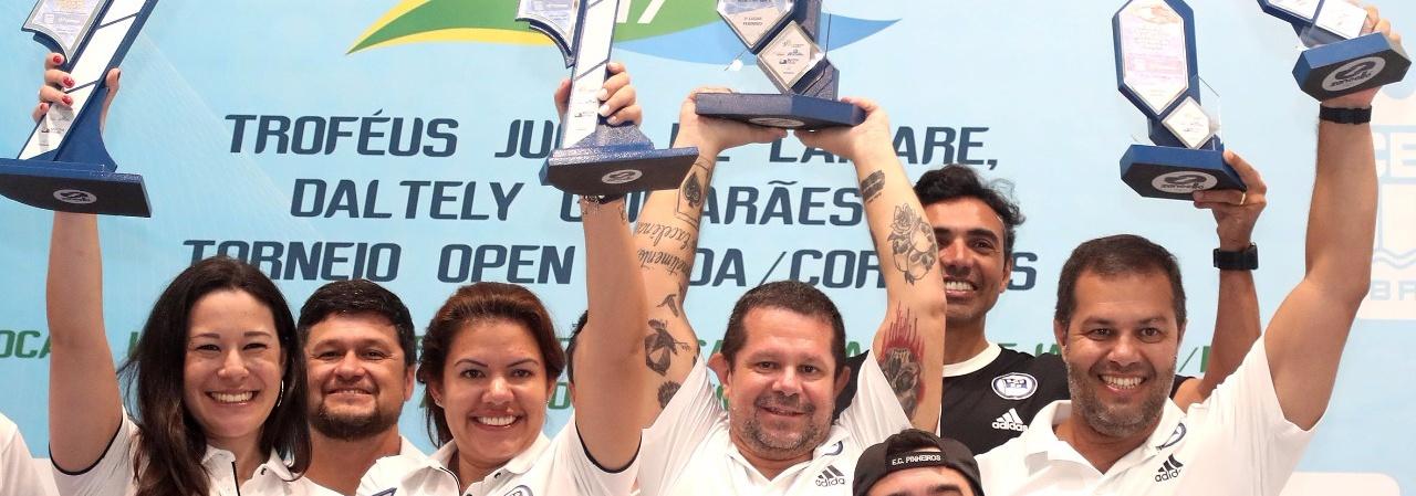 Natação - Esporte Clube Pinheiros é campeão geral do Torneio Open CBDA-Correios