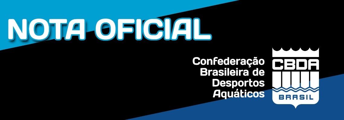 Maratonas Aquáticas - Nota oficial: Etapas do Campeonato Brasileiro e Copa do Brasil de maratonas aquáticas de Caiobá são canceladas