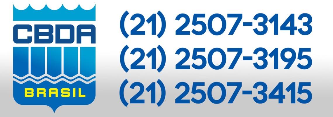 Atenção para os números telefônicos da CBDA