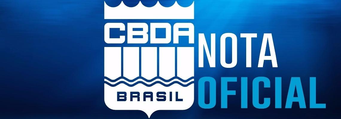 CBDA - Nota oficial - Eleições da CBDA