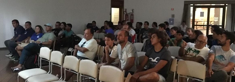 Maratonas Aquáticas - Congresso técnico abre Campeonato Brasileiro de Maratonas Aquáticas