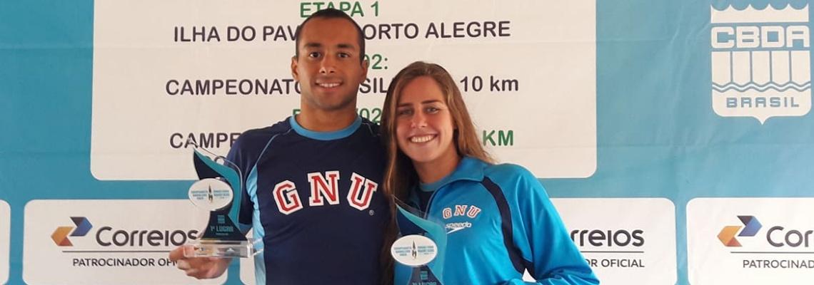 Maratonas Aquáticas - Fernando Ponte e Viviane Jungblut vencem I Etapa do Campeonato Brasileiro de Maratonas Aquáticas
