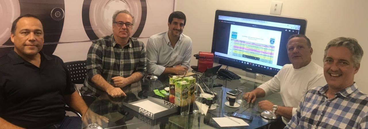 CBDA e PAB promovem reunião em prol do desenvolvimento do Pólo Aquático no Brasil