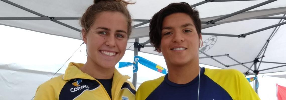 Maratonas Aquáticas - Ana Marcela Cunha fica a dez centésimos de medalha em estreia no FINA Marathon Swim World Series